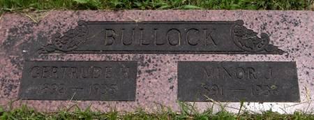 BULLOCK, MINOR J. - Jackson County, Iowa | MINOR J. BULLOCK