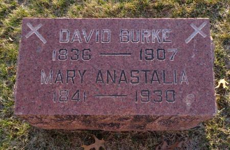 BURKE, MARY ANASTALIA - Jackson County, Iowa | MARY ANASTALIA BURKE