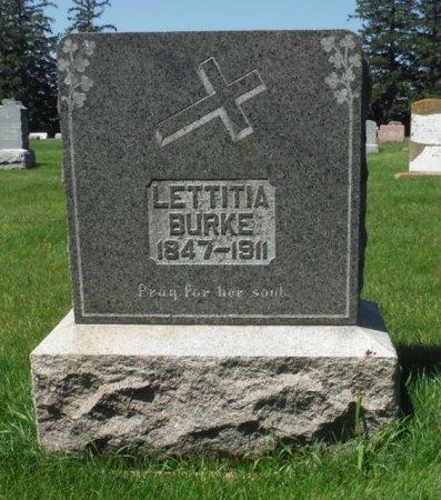 BURKE, LETTITIA - Jackson County, Iowa | LETTITIA BURKE