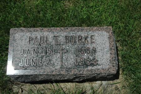 BURKE, PAUL T. - Jackson County, Iowa   PAUL T. BURKE