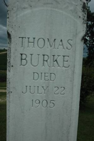 BURKE, THOMAS - Jackson County, Iowa | THOMAS BURKE