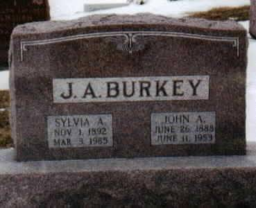 BURKEY, SYLVIA - Jackson County, Iowa | SYLVIA BURKEY