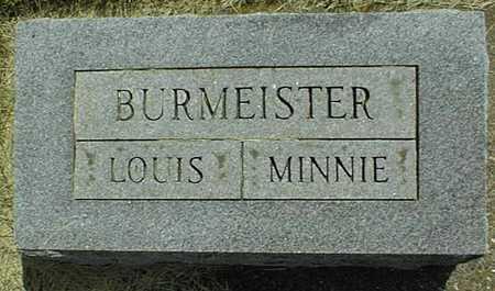 BURMEISTER, MINNIE - Jackson County, Iowa   MINNIE BURMEISTER