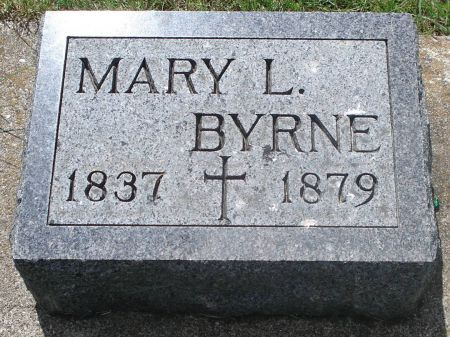 BYRNE, MARY L. - Jackson County, Iowa   MARY L. BYRNE