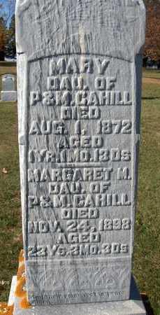 CAHILL, MARGARET M. - Jackson County, Iowa   MARGARET M. CAHILL
