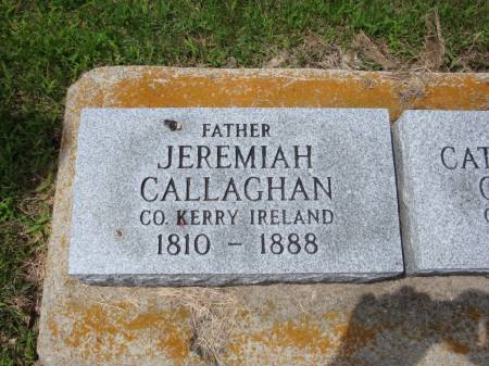 CALLAGHAN, JEREMIAH - Jackson County, Iowa | JEREMIAH CALLAGHAN