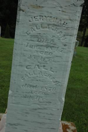 CALLAGHAN, CALL - Jackson County, Iowa | CALL CALLAGHAN