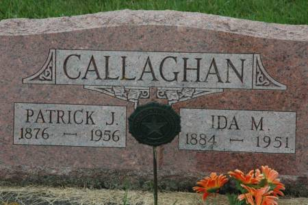 CALLAGHAN, PATRICK J. - Jackson County, Iowa | PATRICK J. CALLAGHAN