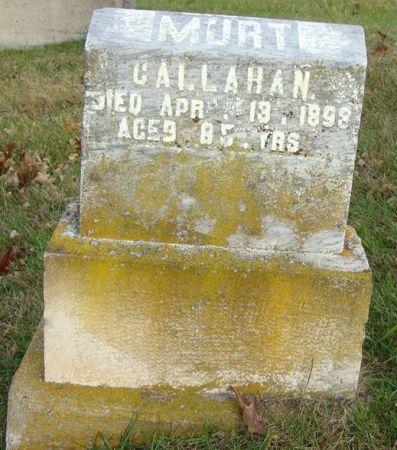 CALLAHAN, MURT - Jackson County, Iowa   MURT CALLAHAN
