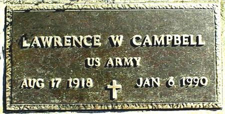 CAMPBELL, LAWRENCE W. - Jackson County, Iowa | LAWRENCE W. CAMPBELL