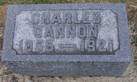 CANNON, CHARLES - Jackson County, Iowa   CHARLES CANNON