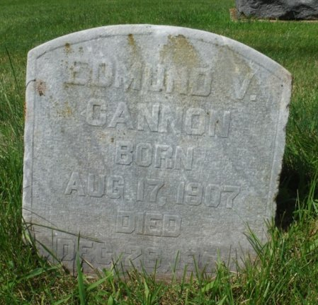 CANNON, EDMUND V. - Jackson County, Iowa | EDMUND V. CANNON