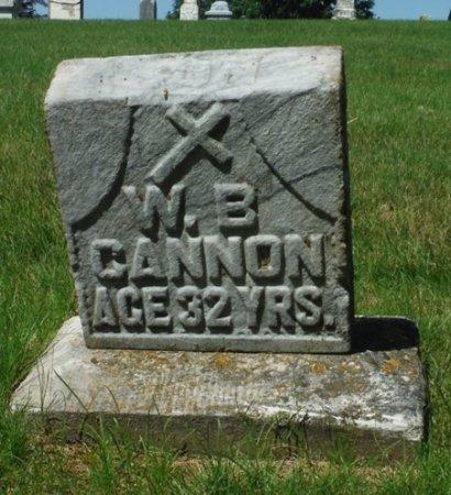 CANNON, W. B. - Jackson County, Iowa | W. B. CANNON
