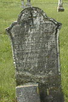 CAPESIUS, GERTRUDE - Jackson County, Iowa   GERTRUDE CAPESIUS