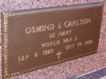 CARLSON, OSMIND L. - Jackson County, Iowa | OSMIND L. CARLSON