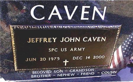 CAVEN, JEFFREY JOHN - Jackson County, Iowa | JEFFREY JOHN CAVEN
