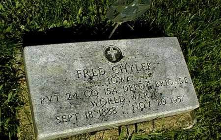 CHYLEK, FRED - Jackson County, Iowa | FRED CHYLEK