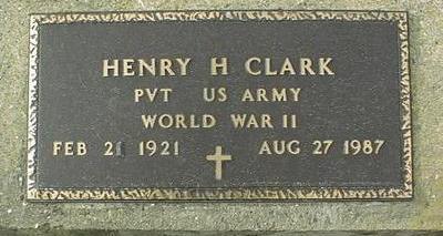 CLARK, HENRY H. - Jackson County, Iowa | HENRY H. CLARK