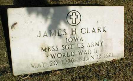 CLARK, JAMES H. - Jackson County, Iowa | JAMES H. CLARK
