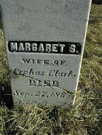 CLARK, MARGARET S. - Jackson County, Iowa | MARGARET S. CLARK