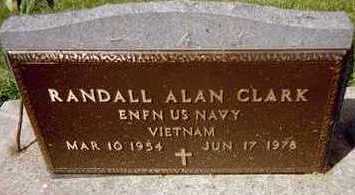 CLARK, RANDALL ALAN - Jackson County, Iowa   RANDALL ALAN CLARK