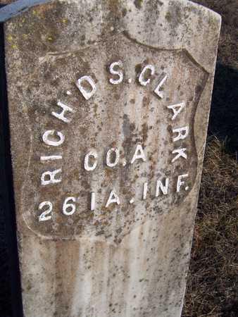 CLARK, RICHARD S. - Jackson County, Iowa | RICHARD S. CLARK