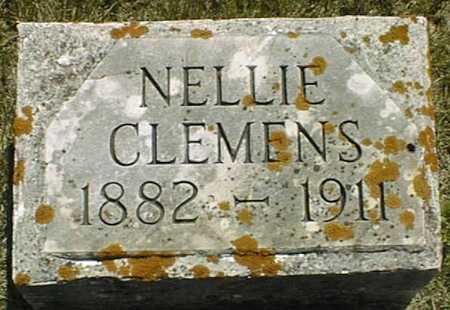 CLEMENS, NELLIE - Jackson County, Iowa   NELLIE CLEMENS