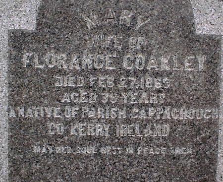 COAKLEY, MARY - Jackson County, Iowa | MARY COAKLEY