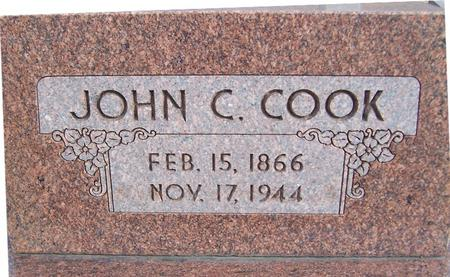 COOK, JOHN C. - Jackson County, Iowa   JOHN C. COOK