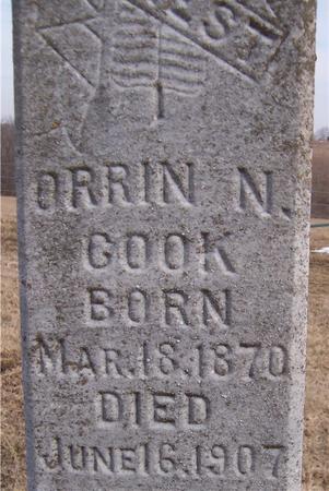 COOK, ORRIN N. - Jackson County, Iowa | ORRIN N. COOK