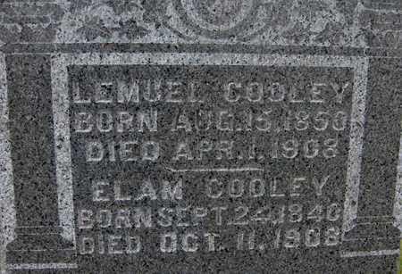 COOLEY, ELAM - Jackson County, Iowa | ELAM COOLEY