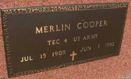 COOPER, MERLIN - Jackson County, Iowa   MERLIN COOPER