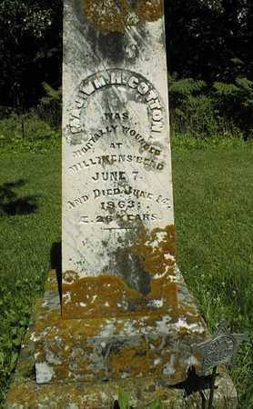 COTTON, MAJOR WILLIAM H. - Jackson County, Iowa | MAJOR WILLIAM H. COTTON