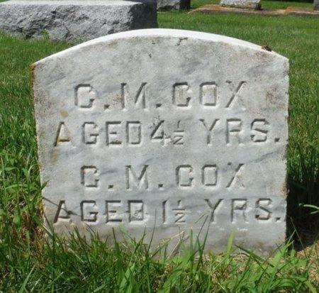 COX, C. M. - Jackson County, Iowa | C. M. COX