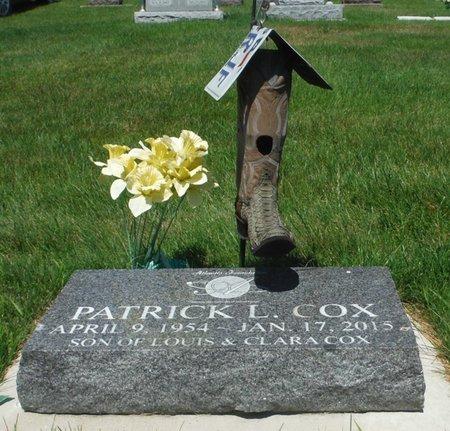 COX, PATRICK L. - Jackson County, Iowa | PATRICK L. COX