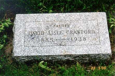 CRAWFORD, DAVID LISLE - Jackson County, Iowa | DAVID LISLE CRAWFORD
