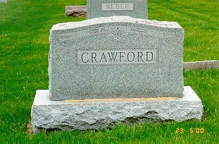 CRAWFORD, FAMILY STONE - Jackson County, Iowa | FAMILY STONE CRAWFORD