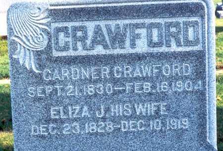 CRAWFORD, ELIZA JANE - Jackson County, Iowa | ELIZA JANE CRAWFORD