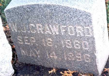 CRAWFORD, WILLIAM JAMES - Jackson County, Iowa | WILLIAM JAMES CRAWFORD