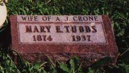 TUBBS CRONE, MARY - Jackson County, Iowa | MARY TUBBS CRONE