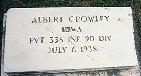 CROWLEY, ALBERT - Jackson County, Iowa | ALBERT CROWLEY