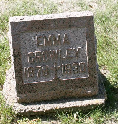 CROWLEY, EMMA - Jackson County, Iowa | EMMA CROWLEY