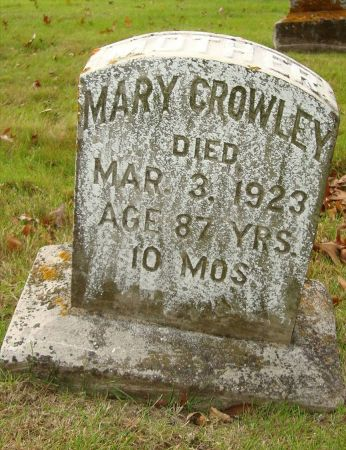 CROWLEY, MARY - Jackson County, Iowa | MARY CROWLEY