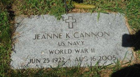 KETCHUM CANNON, JEANNE - Jackson County, Iowa   JEANNE KETCHUM CANNON