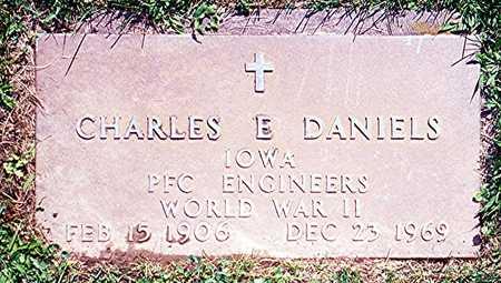 DANIELS, CHARLES E. - Jackson County, Iowa | CHARLES E. DANIELS