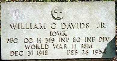 DAVIDS, WILLIAM G.,JR. - Jackson County, Iowa | WILLIAM G.,JR. DAVIDS