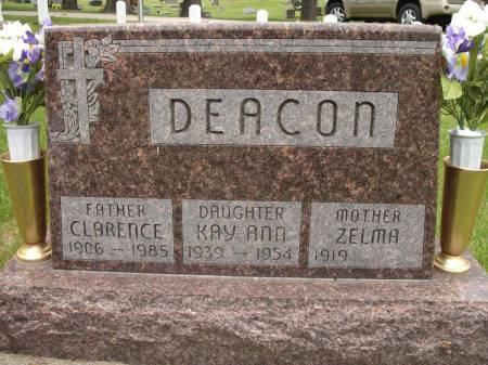 DEACON, CLARENCE - Jackson County, Iowa | CLARENCE DEACON