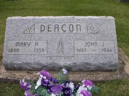 DEACON, JOHN J. - Jackson County, Iowa   JOHN J. DEACON