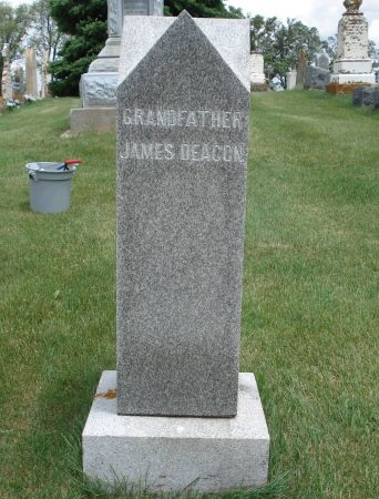 DEACON, JAMES - Jackson County, Iowa | JAMES DEACON