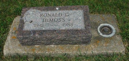 DEMOSS, RONALD G. - Jackson County, Iowa | RONALD G. DEMOSS